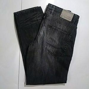 24cb9da84 Angelo Litrico Jeans - Angelo Litrico black tapered leg jeans 32W x 30L